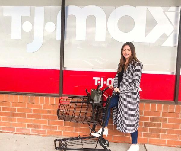 tj maxx shopping