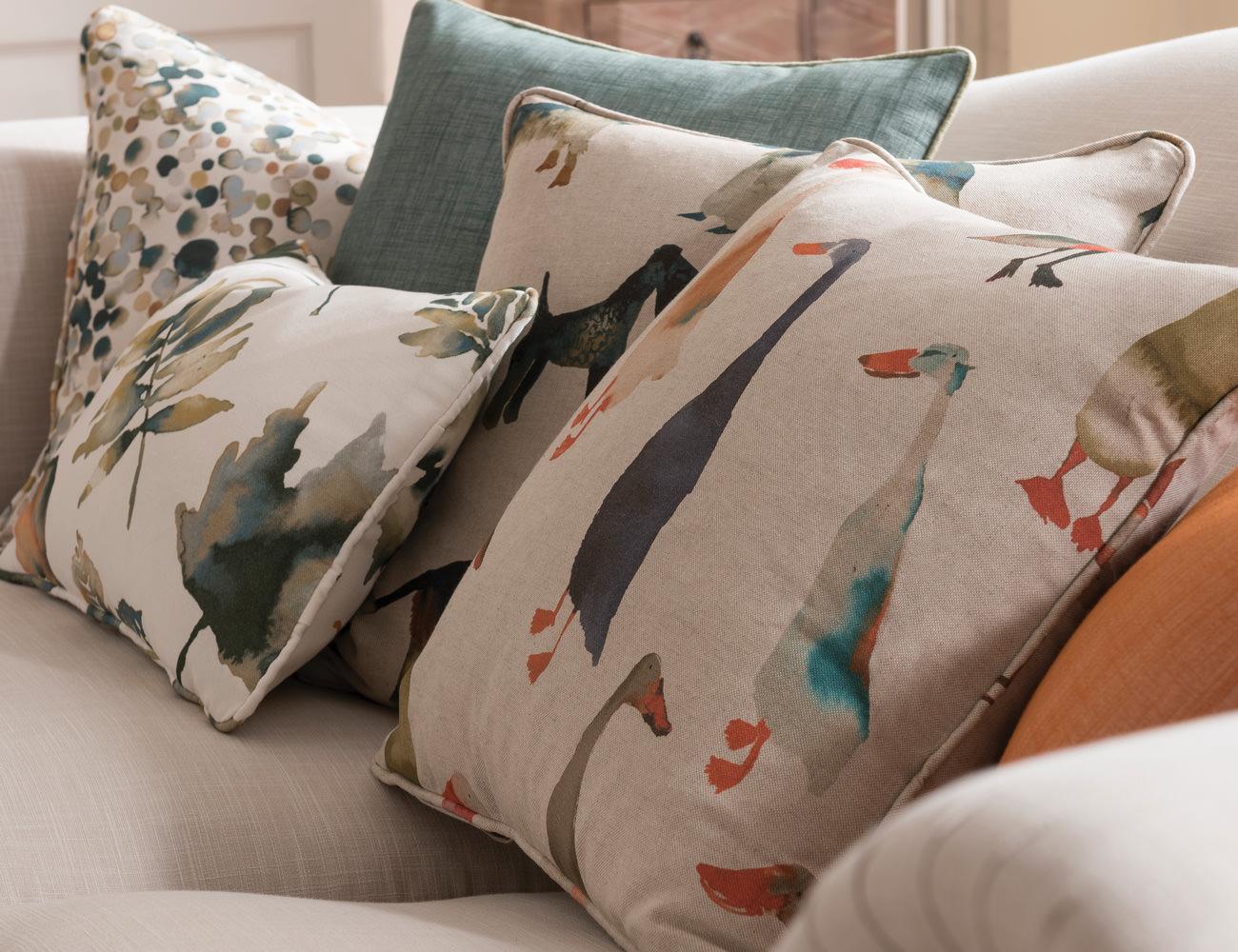 Quale preferire per il tuo divano e perché? Spessa Tela Con Stampa Cane Effetto Lino