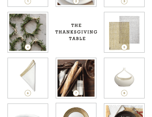 Ideas to set the thanksgiving table this year. | www.chicandsugar.com