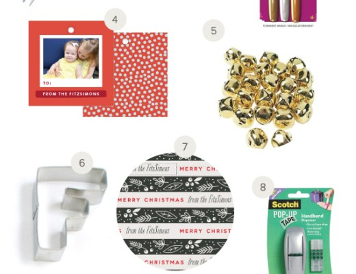 Holiday Gift Wrapping Essentials | www.chicandsugar.com