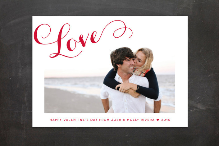 a chic love valentines day card for sale at mintedcom wwwchicandsugar - The Office Valentines Day Cards