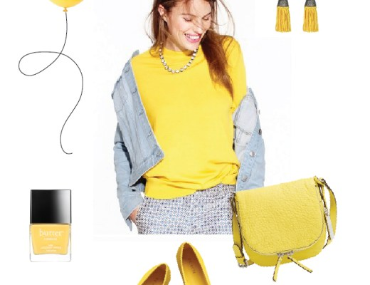 Pops of yellow for Spring! | www.chicandsugar.com