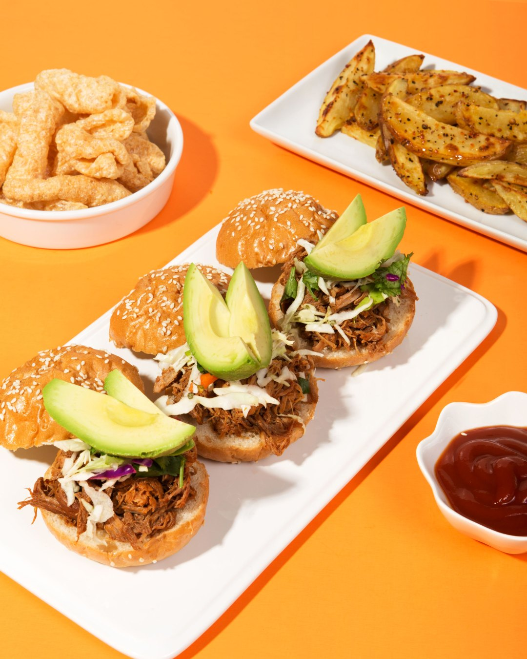 Mole Coloradito Pulled Pork Sliders