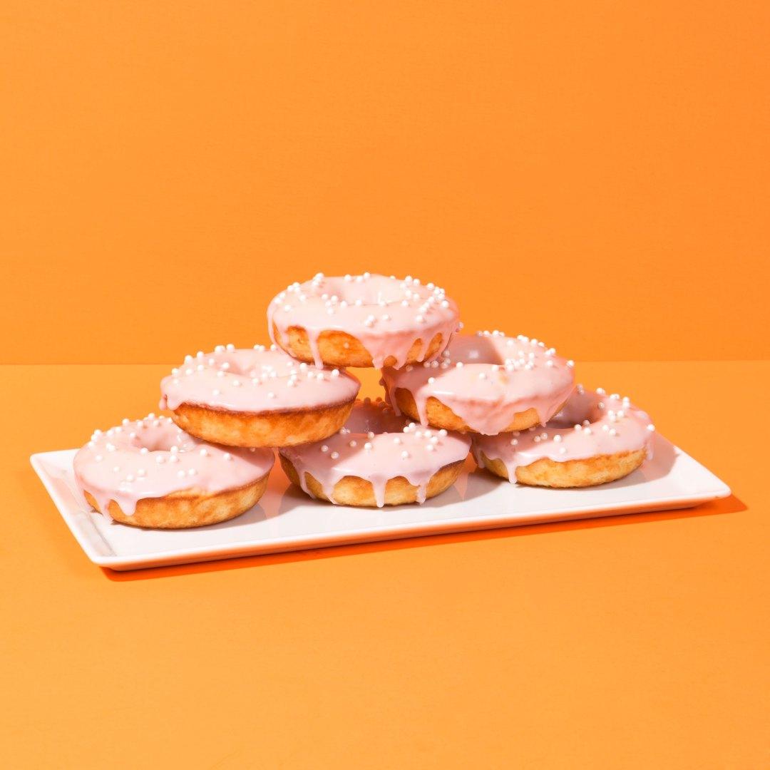 Baked Crema Mexicana Donuts