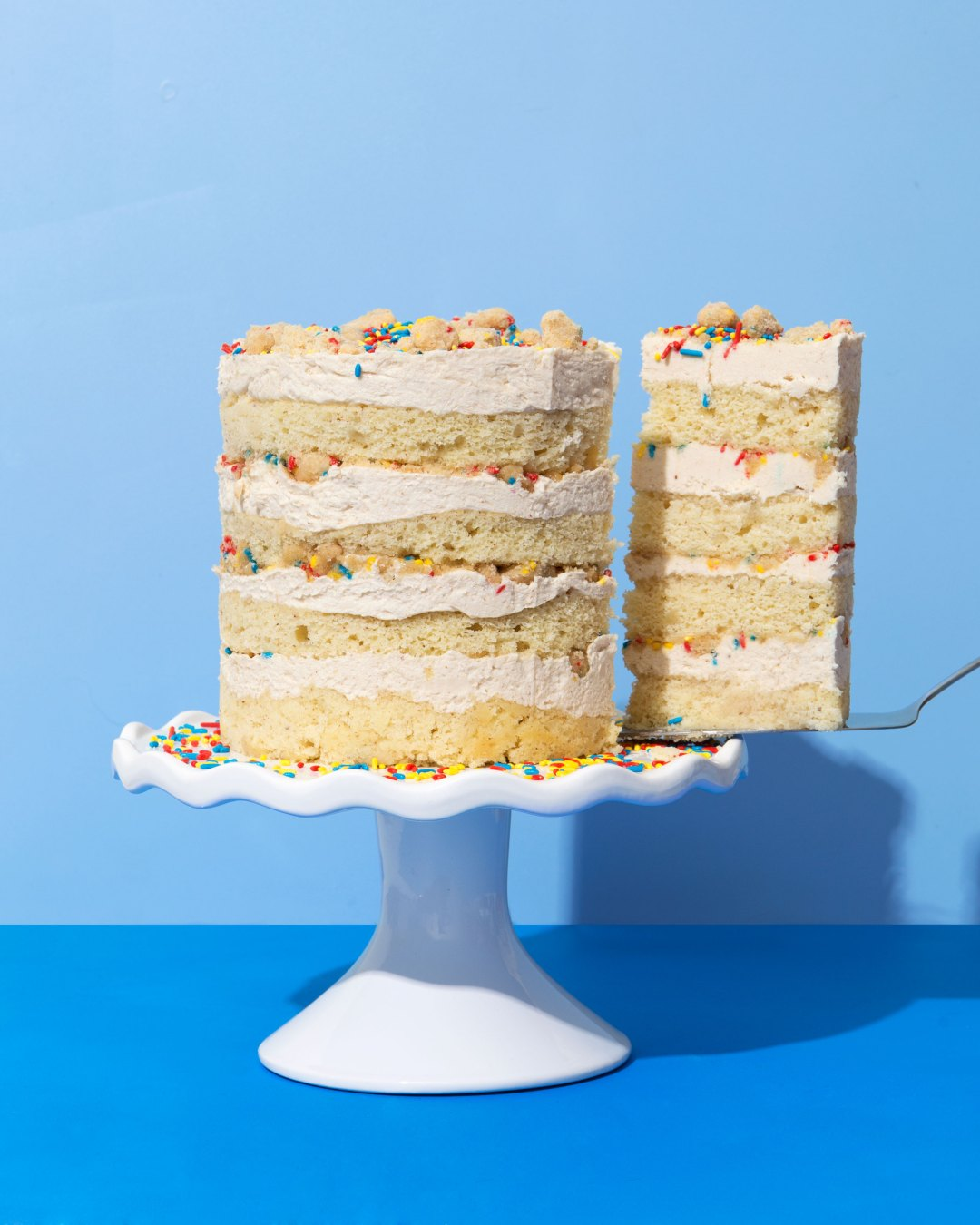 Momofuku Milk Bar Inspired Horchata Birthday Cake