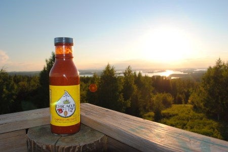 Chicaoji in Finland at Tapio's in the Land of the Midnight Sun
