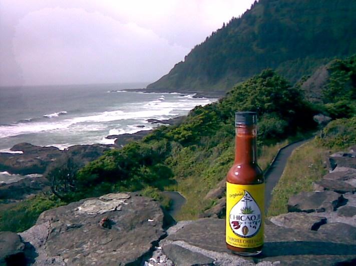 Chicaoji on coast of Oregon