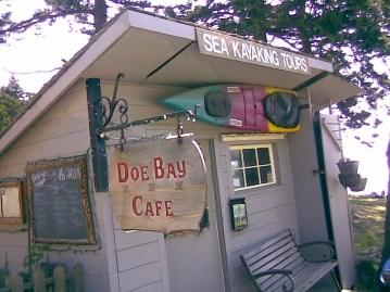Doe Bay Cafe. Orcas Island WA
