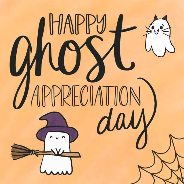 Even ghosts want to be appreciated every now and thenhellip