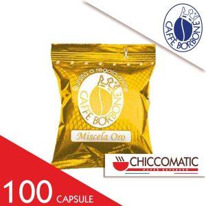 Miscela Oro Borbone Compatibile Espresso Point 100 Capsule