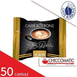 Capsule Caffè Borbone Compatibile Lavazza a Modo Mio Miscela Oro