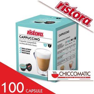 Ristora Compatibile Dolce Gusto Cappuccino Decaffeinato - 100 Cialde