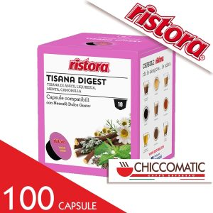 Ristora Compatibile Dolce Gusto Tisana Digest - 100 Cialde