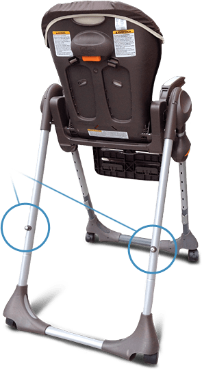 high chair recall wheelchair xbox commercial chicco polly highchair notice affected models