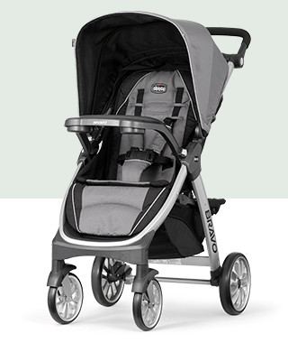 Chicco 3 In 1 Bravo Strollers
