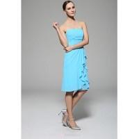 Bridesmaid Dresses Ocean Blue Color - Cheap Wedding Dresses