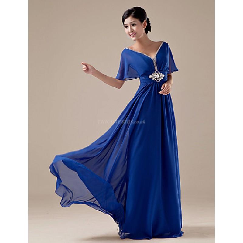 Formal Evening Dress  Daffodil  Ruby  Royal Blue