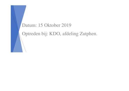 agenda optreden KDO zutphen 15 -10 2019-1