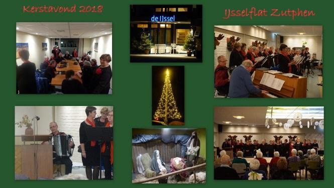 Collage IJsselflat kerstavond 2018