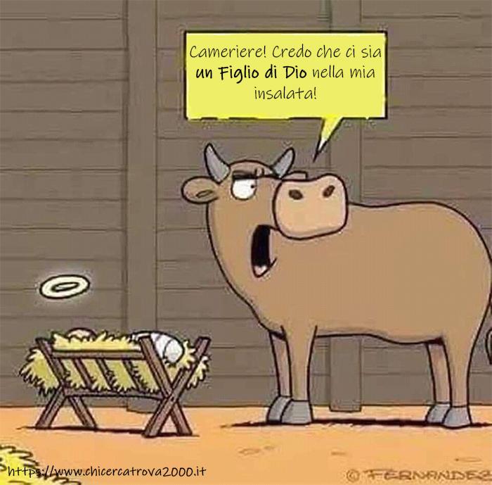 Una battuta umoristica per il natale.