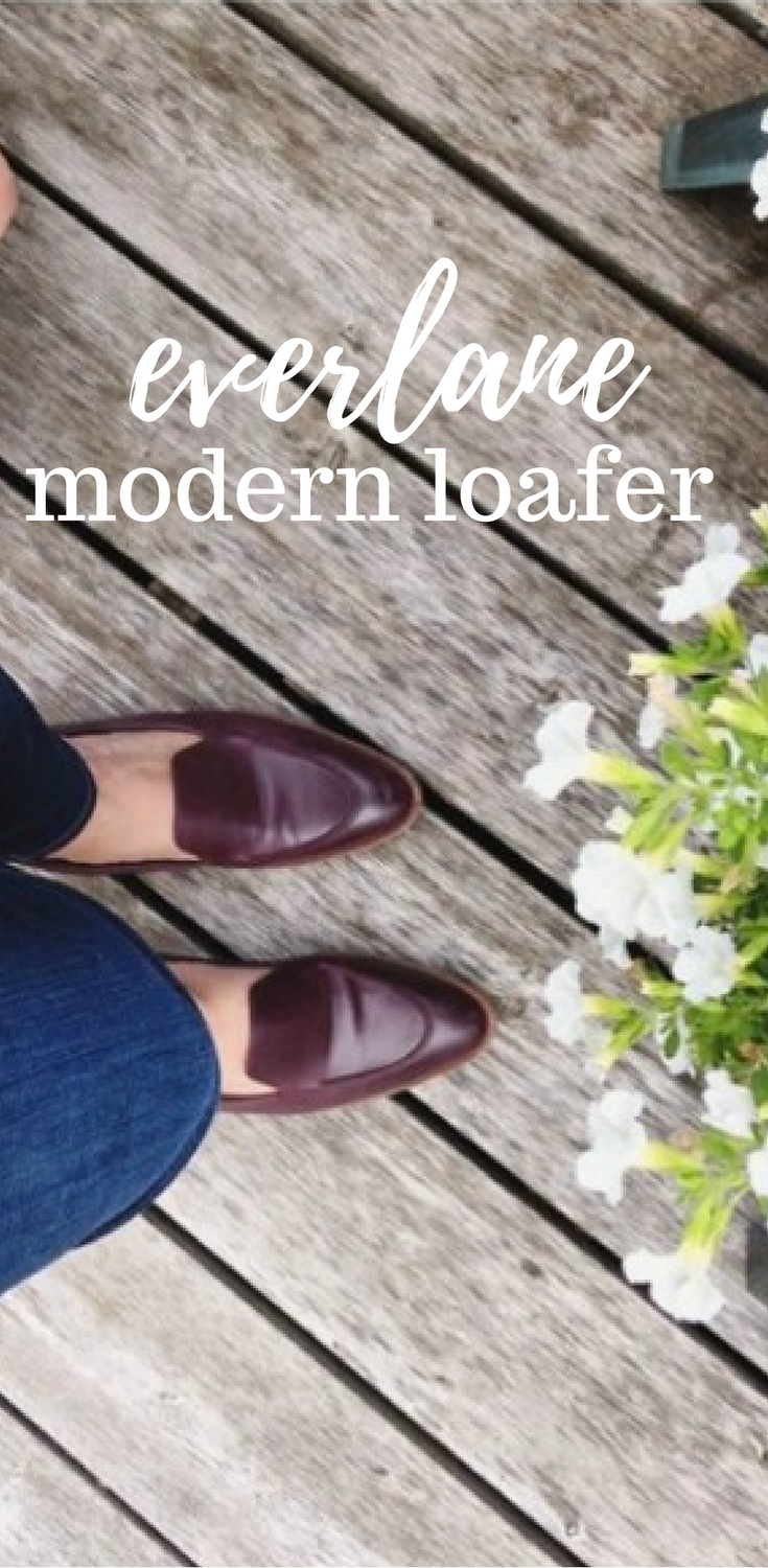 74639baf242 Everlane Loafer Review ⋆ chic everywhere