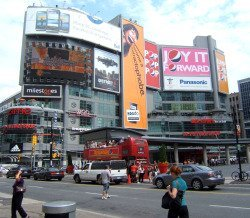 toronto shopping districts