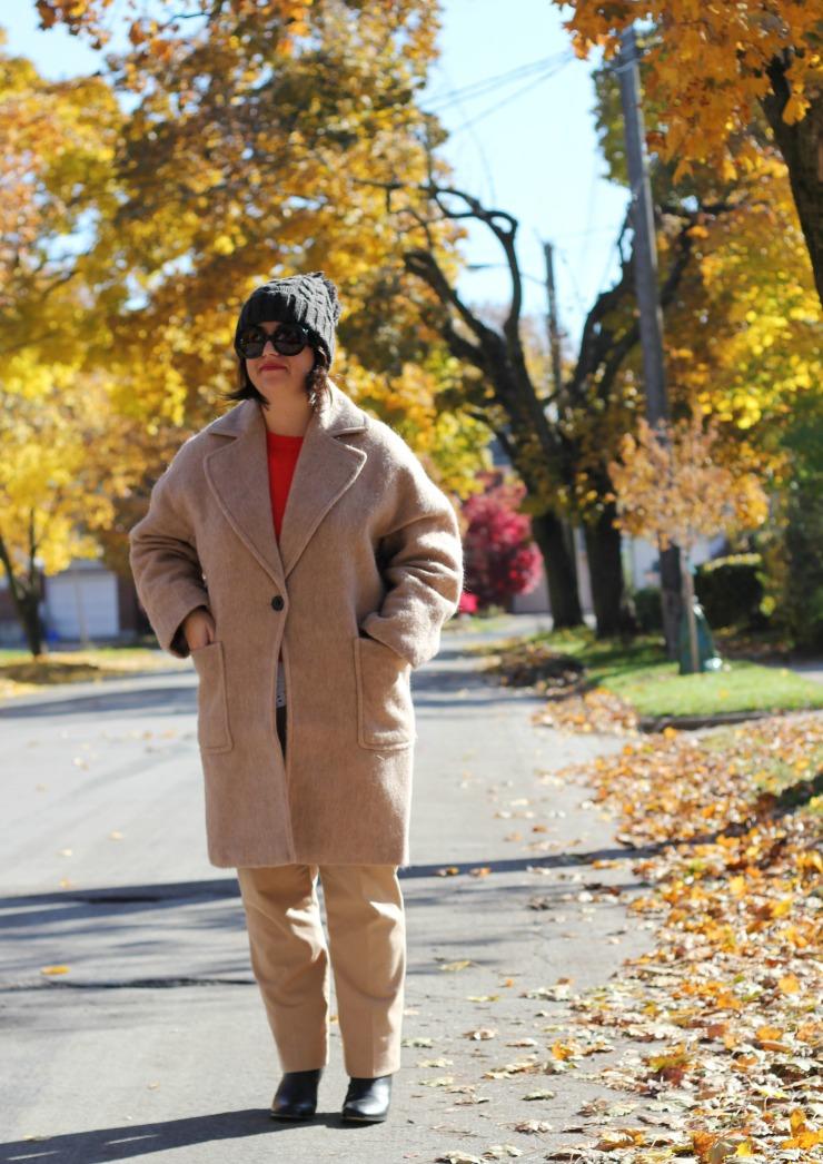 wool masculine coat