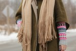 casual winter outfit, free people kolby scarf