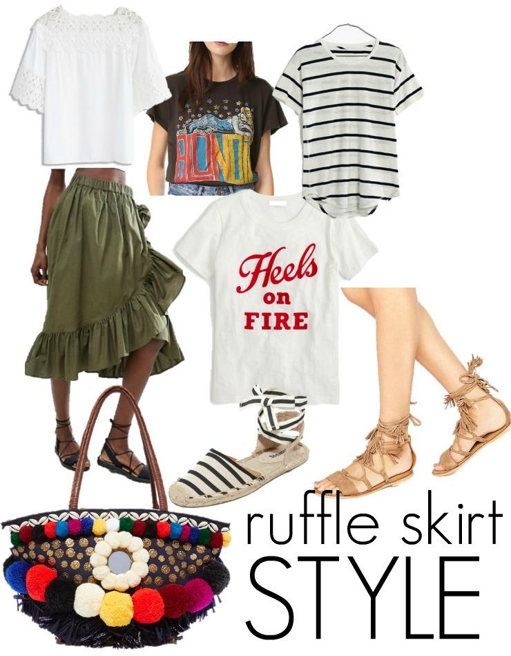 ruffle street style
