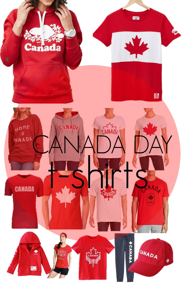 the best canada day t-shirts
