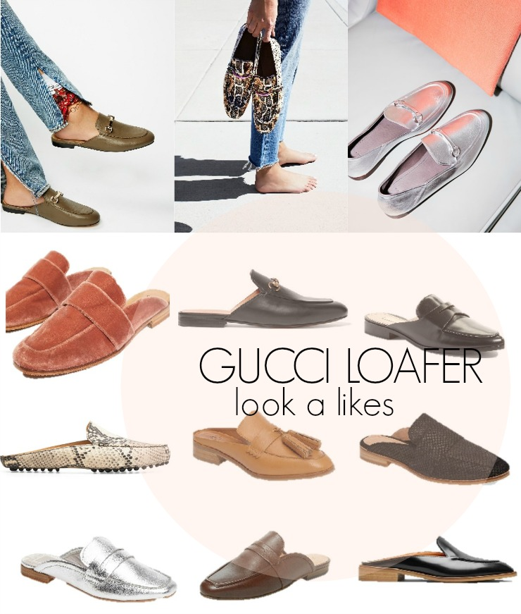 gucci loafer look a likes