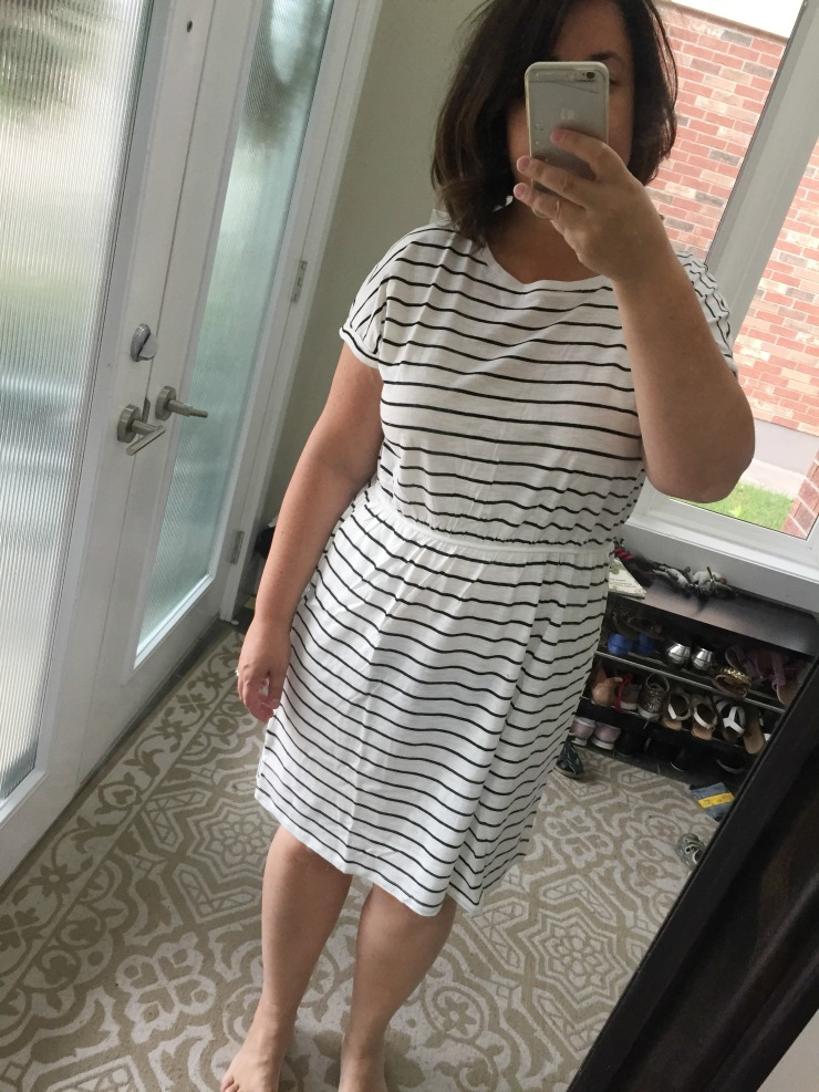 hm stripe dress