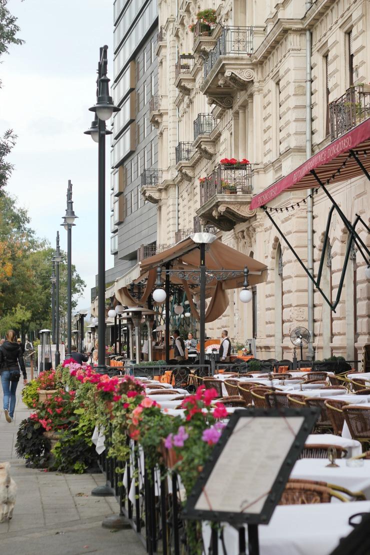 Pest side of Budapest