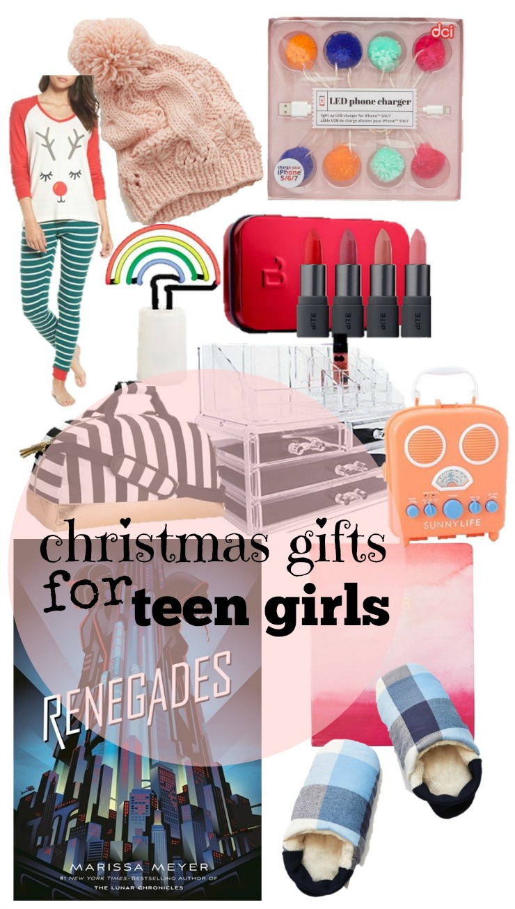 Christmas Gifts for Teen Girls ⋆ chic everywhere