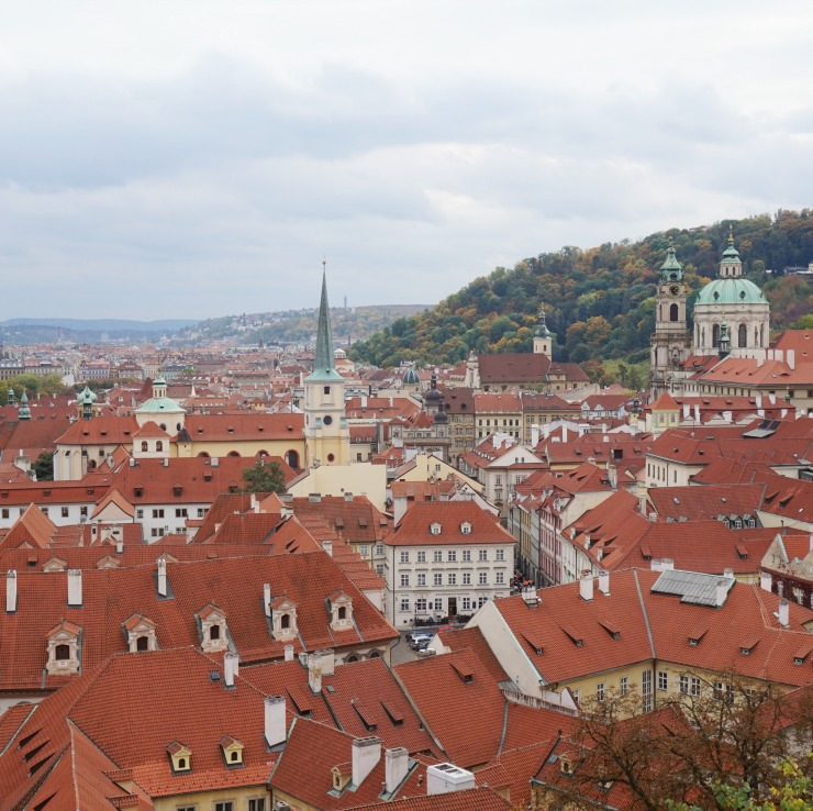 things to do in prague, red roofs