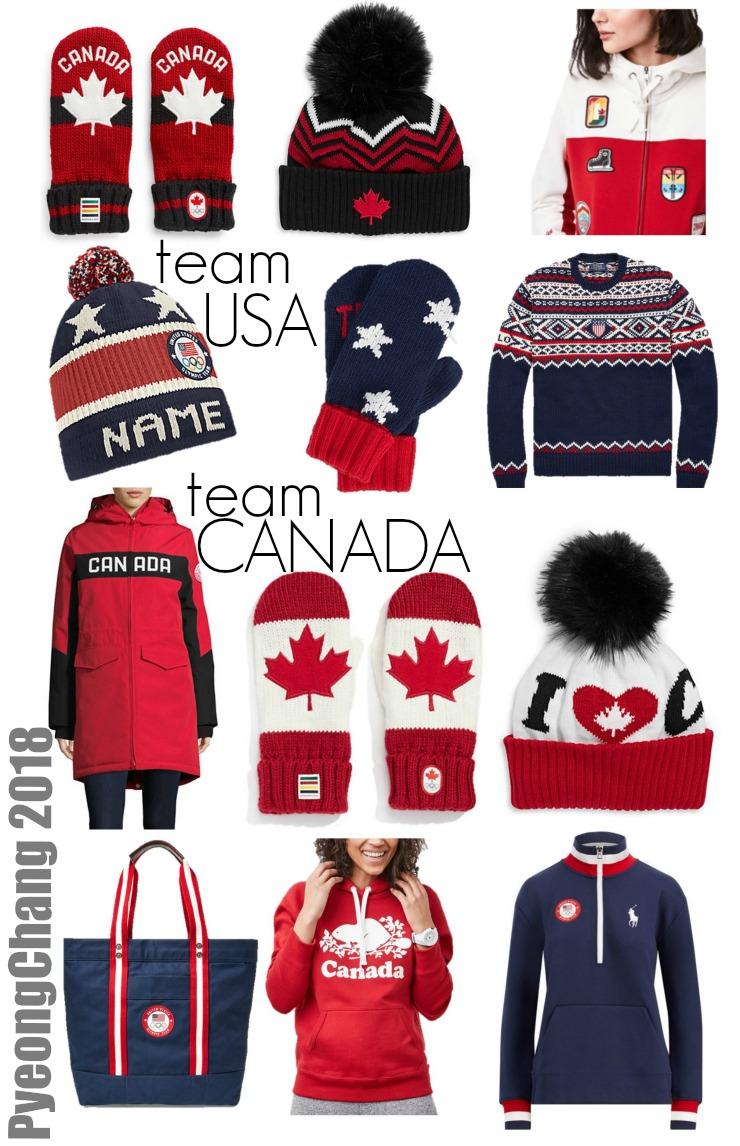 olympic team clothing pyeongchang 2018