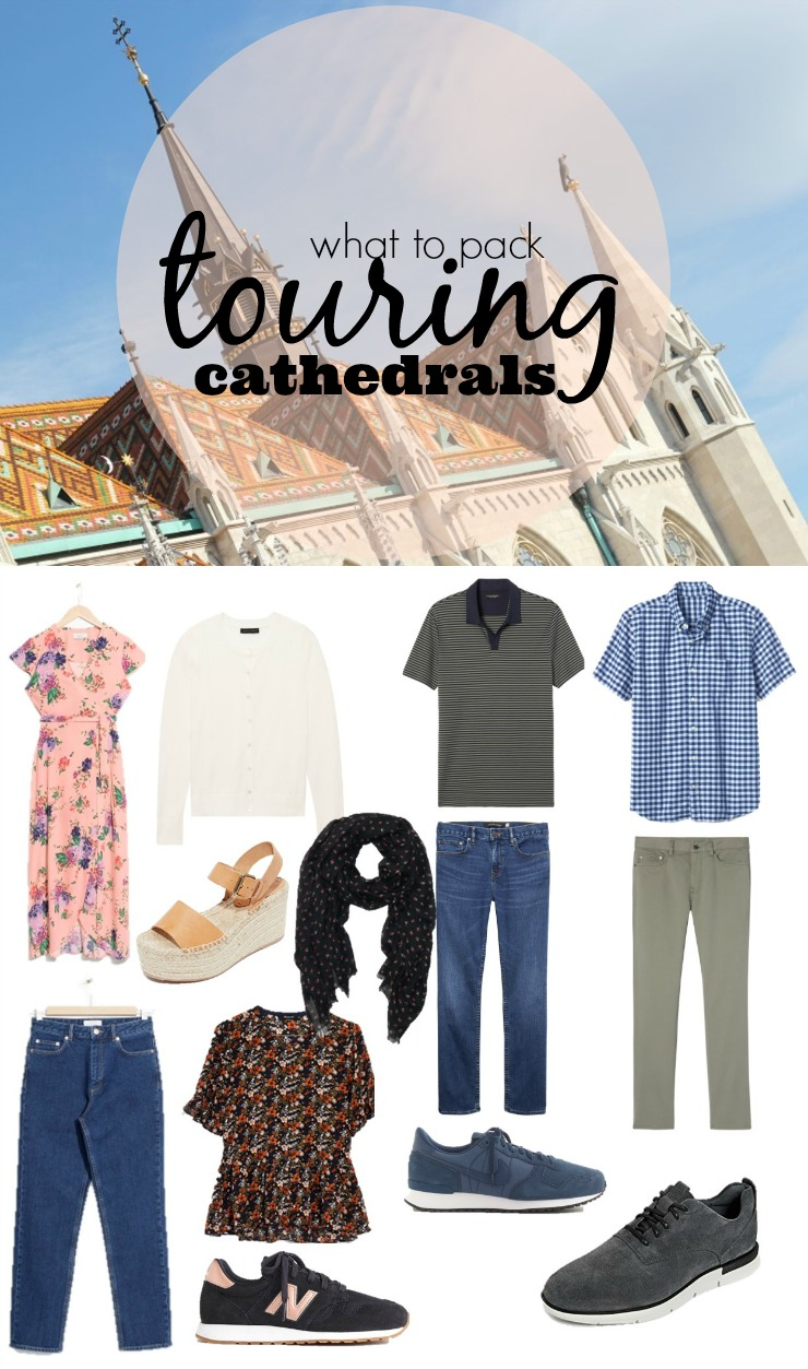 what you can wear touring churches, cathedrals in europe