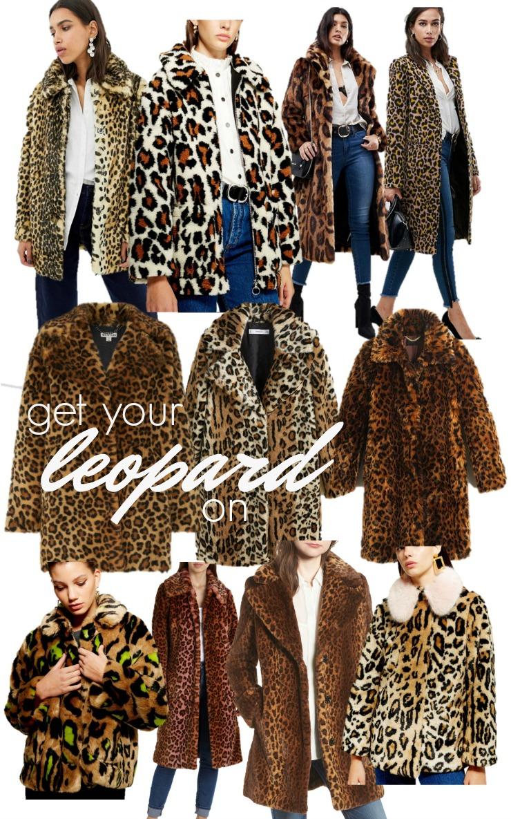 2dcf3c63aef0 leopard print coat trend, leopard faux fur coat