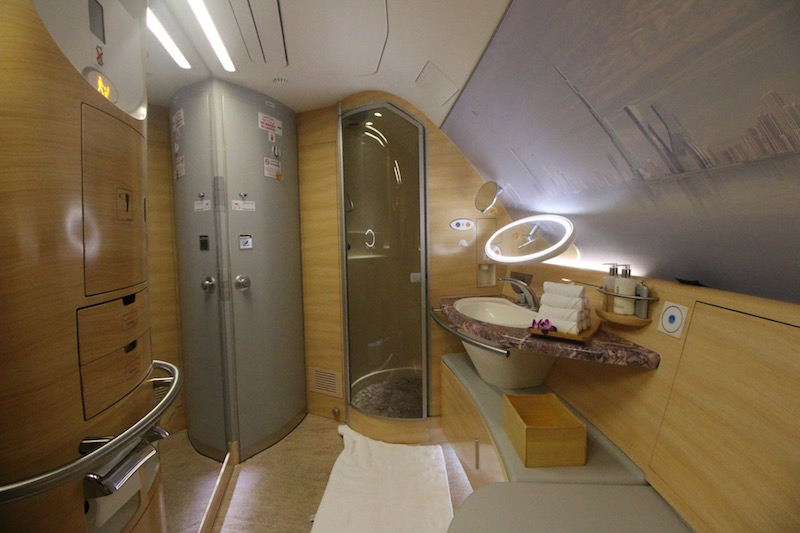 Emirates First Class Review  Bling It On