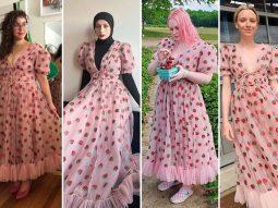 فستان الفراولة البناتي