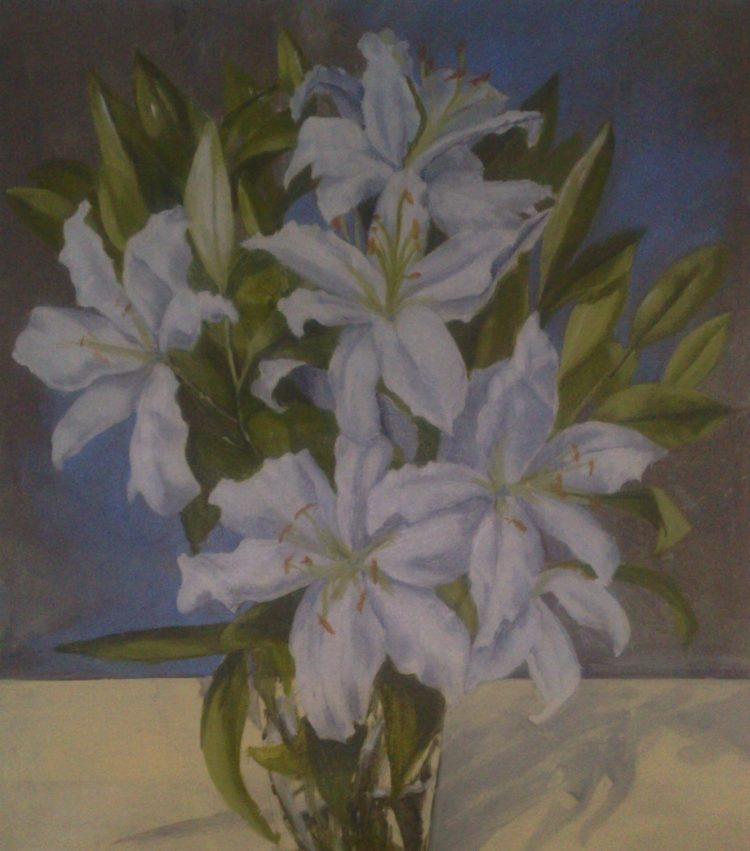 Lilies - oil