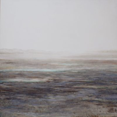 Ebbing - Oil on board - 95 x 95cms - by Isabel Dodson