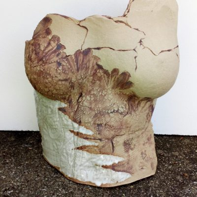 Earth - Stoneware ceramics - 30x27x8cm approx - by Miriam (Mim) McCann