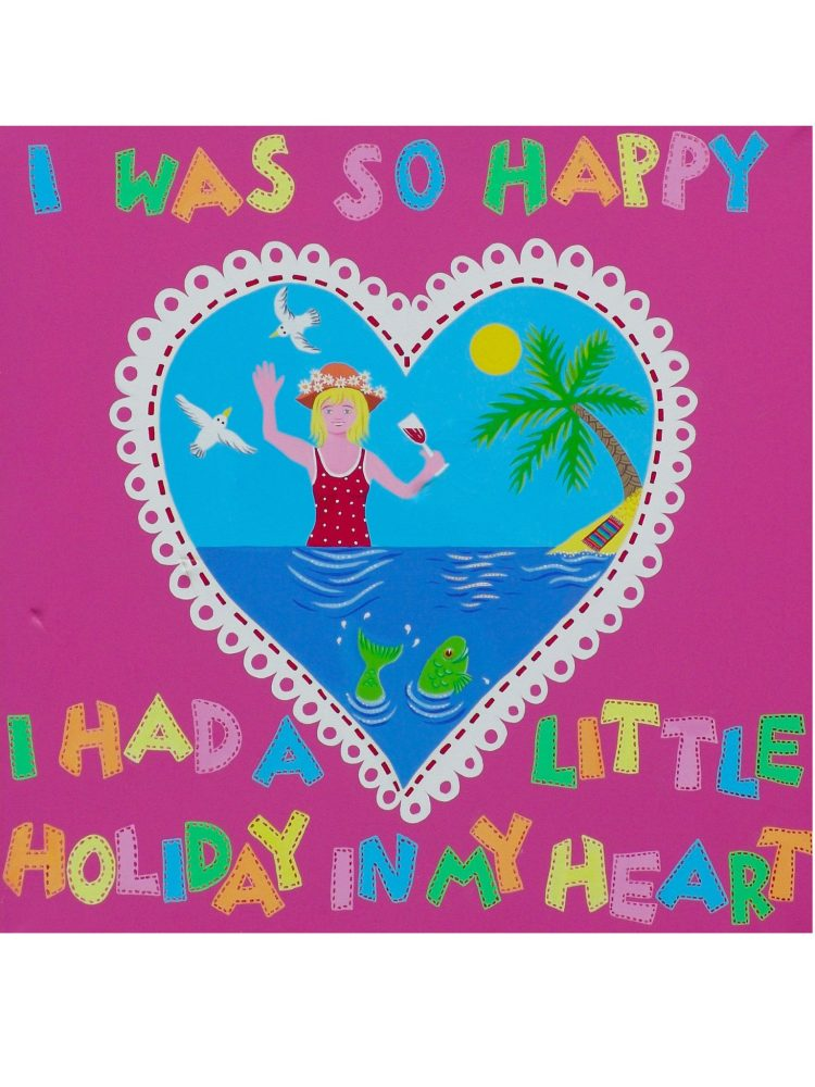 Holiday In My Heart - Acrylic