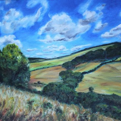 Levin Down - Oil Painting - 18