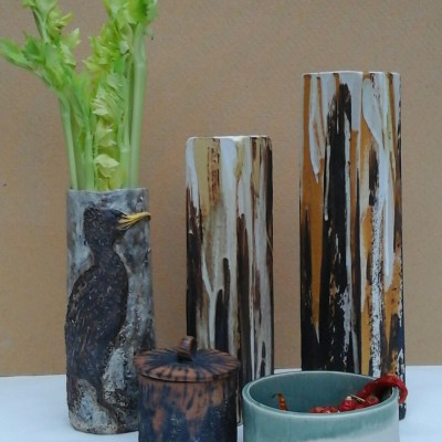 Selection of work - Stoneware pottery