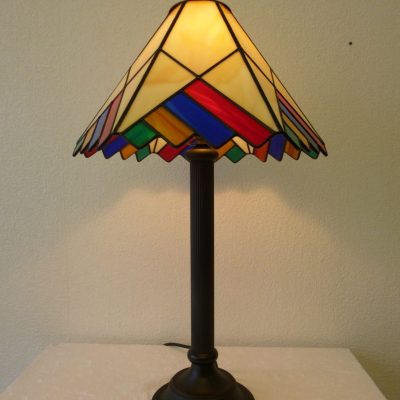 Geometric lamp - Glass
