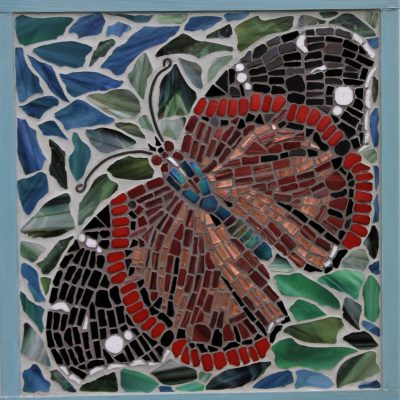 Red Admiral - Mosaic - 17