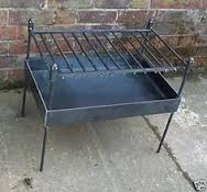Firebox barbecue - Mild steel - To order - by Richard Grieve