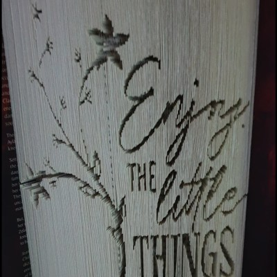 Little things - Mixed media - Book - by Anne Burn